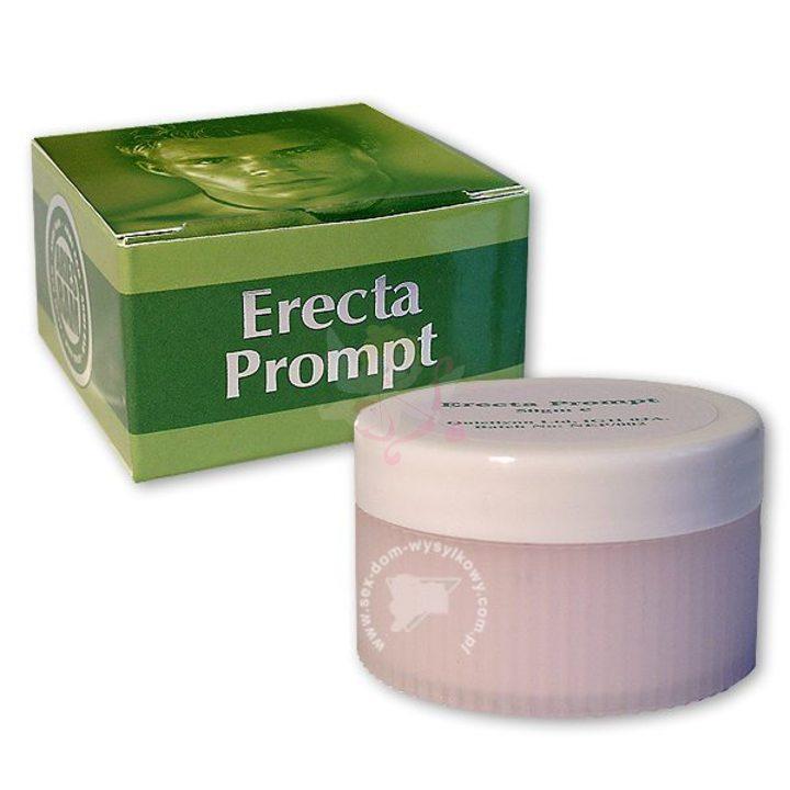 Возбуждающий крем для мужчин Erecta Prompt
